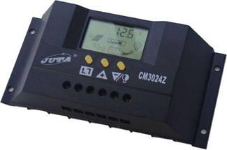 Контроллер 30А 12В/24В (Модель-CM3024Z), JUTA