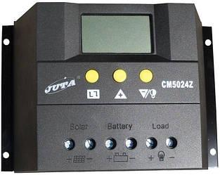 Контроллер 50А 12В/24В (Модель-CM5024Z), JUTA