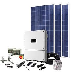 Сетевая система на Солнечных Батареях, 10кВт, 380В