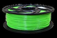 Пластик для 3D-принтера 1кг PLA  (3d-ручки) 1.75мм/1кг (330м) Светящийся HQ (Зеленый) HQ166, фото 2