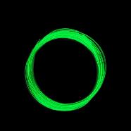 Пластик для 3D-принтера 1кг PLA  (3d-ручки) 1.75мм/1кг (330м) Светящийся HQ (Зеленый) HQ166, фото 3