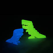 Пластик для 3D-принтера 1кг PLA  (3d-ручки) 1.75мм/1кг (330м) Светящийся HQ (Зеленый) HQ166, фото 5