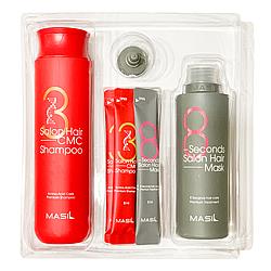 Набір для відновлення волосся з кератином і колагеном MASIL Salon Hair Set