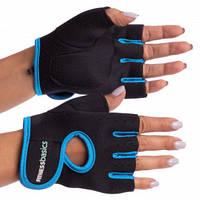 Фитнес перчатки для тренажерного зала Fitness Basics неопрен