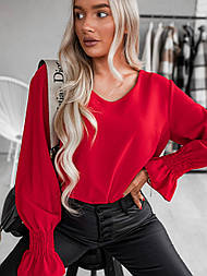 Блуза жіноча вільна з легкої тканини