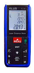 Лазерный дальномер ( лазерная рулетка ) Flus FL-40 (0,039-40 м) проводит измерения V, S, H
