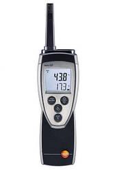 Термогігрометр Testo 625 з NTC-зондом (0-100%; -10...+60 °C) точка роси, температура мокрого кульки