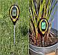 Професійний аналізатор ґрунту 4 в 1 FLO 89000 (РН, вологість, освітленість, температура). Польща, фото 3