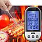 Бездротовий термометр (до 30 м) з щупом для приготування їжі YB414-SZ (0 до +250 °С) З ф-їй Будильник, фото 2