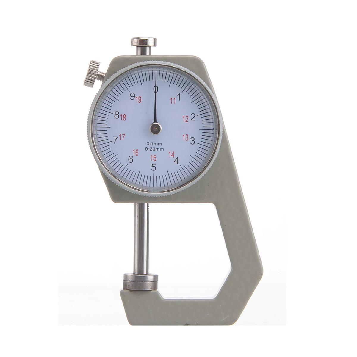 Карманный механически толщиномер TOL-1 0,1 мм/0-20 мм для бумаги, картона, железа, ткани