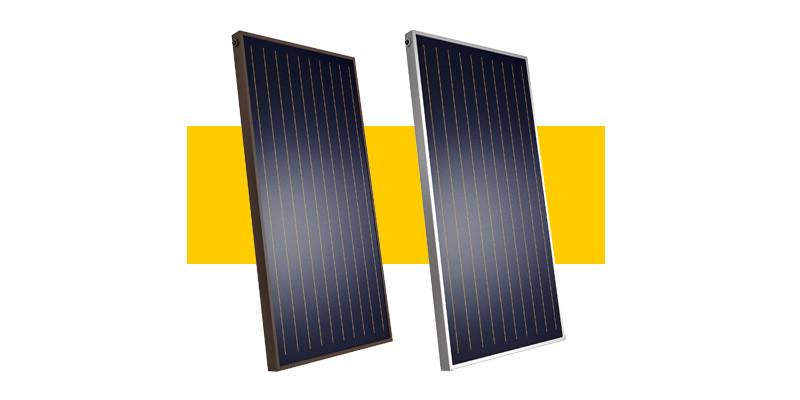 Солнечные коллекторы Heliomax Arfa ( светлый алюминий )