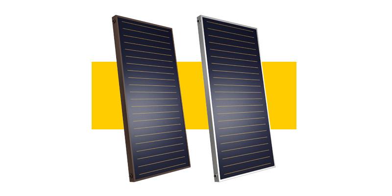Солнечные коллекторы Heliomax Meandr (светлый алюминий)