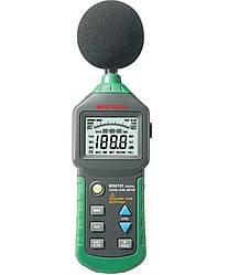 Шумомер Mastech MS6701(30-130 dB) в пыле и влагозащищённом прорезиненном корпусе, ПО. Цена с НДС