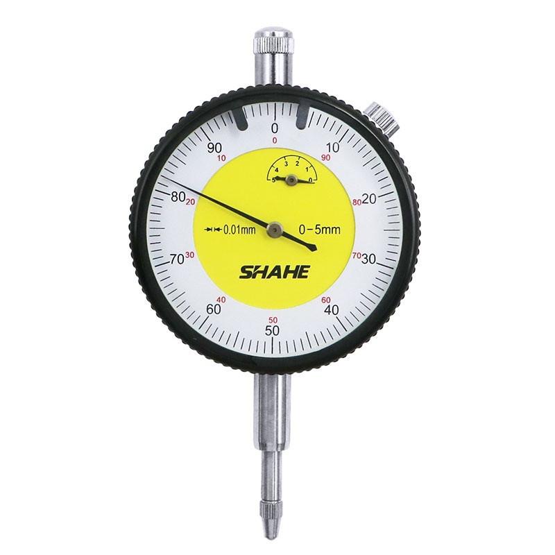 Індикатор годинникового типу ИЧ Shahe-5 0-5/0.01 мм (5301-5) без вушок