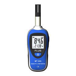 Цифровий термогігрометр FLUS MT903 MINI (-30 - 70°С; 0 - 100% RH)