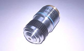 Объектив для микроскопа Ulab 40х/0,65 S ( ахроматический не иммерсионный с пружинным механизмом )