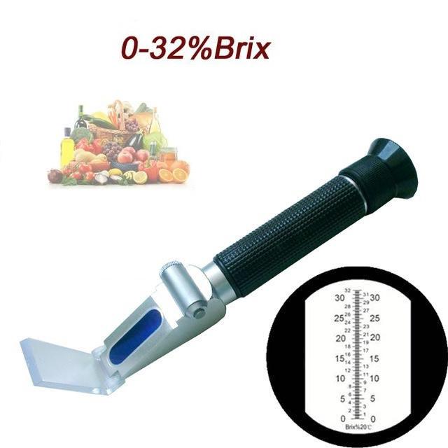 Рефрактометр ZGRB - 32 ATC для сахарозы, сож. Со шкалой 0-32% Brix