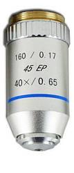 Объектив для микроскопа 40х / 0.65  160 / 0.17 45 ЕР (ахроматический, не иммерсионный)