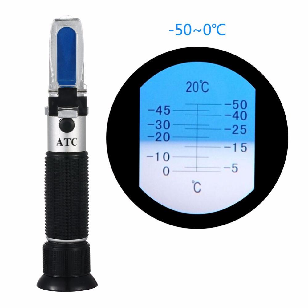 Рефрактометр RТМ-50 ATC для определения температуры замерзания метанола (- 50 - 0 °С)