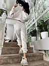 Спортивний костюм жіночий з логотипом Білий, фото 5