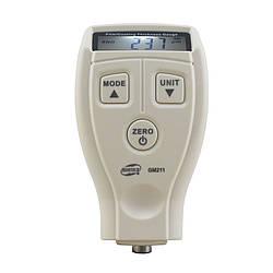 Товщиномір лакофарбових покриттів Benetech GM211 (від 0 мкм до 1800 мкм) Fe/NFe
