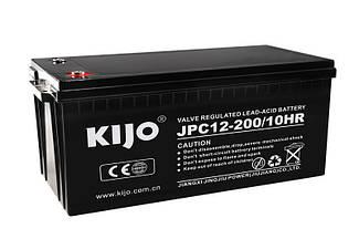 Аккумулятор гелевый Kijo JDG 200 Ач 12В GEL