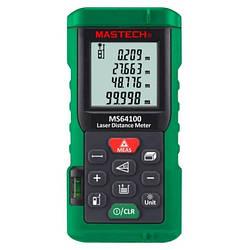 Лазерный дальномер ( лазерная рулетка ) Mastech MS64100 (0,046-100 м) проводит измерения V, S, H, память 99