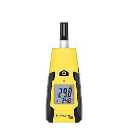 Термогігрометр Trotec BC06 (-20 °C...+60 °C; 0-100%) точка роси DEW, Т(°C) мокрого термометра WB. Німеччина