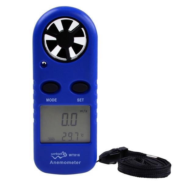 Цифровий анемометр Wintact WT816 (0,7 - 30 м/с) (крок виміру - 0,1 м/с) з вимірюванням температури