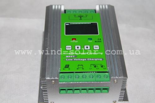 Гібридний контролер MPPT 800 вт 12/24в
