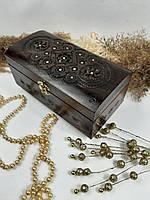 Резная шкатулка ручной работы, оригинальный подарок