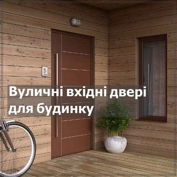 Уличные входные двери для дома