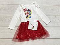 Нарядное платье для девочек. 110- 134 рост.