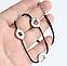 Набор аксессуаров Итачи Учиха 3в1: налобный протектор, кольцо, цепочка-шнурок, Naruto SET, фото 3