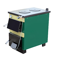 Твердотопливный котел-плита ТИВЕР АКТВ-18 (18кВт,180м2, две комфорки)