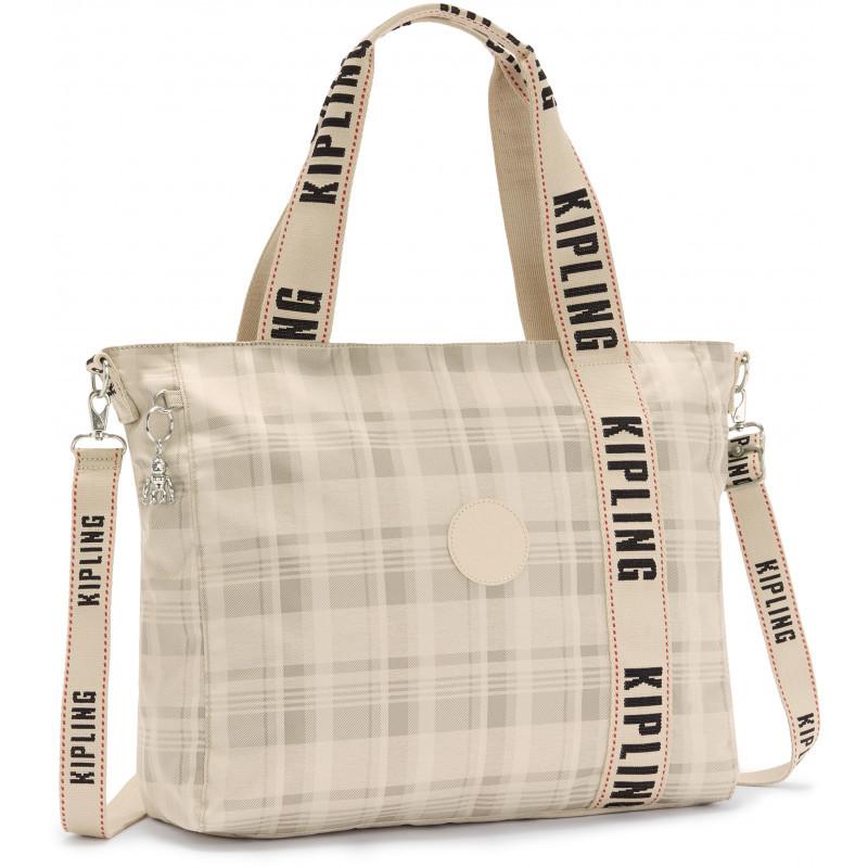 Женская сумка Kipling ASSENI Soft Plaid Bl (95X) KI5426_95X