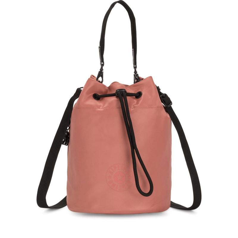 Жіноча сумка Kipling LABI Satin Rust (W62) KI3274_W62