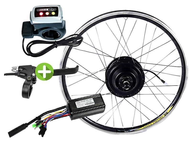 Электровелонабор для велосипеда заспицованный 36В 400Вт MXUS XF15F - XF15R