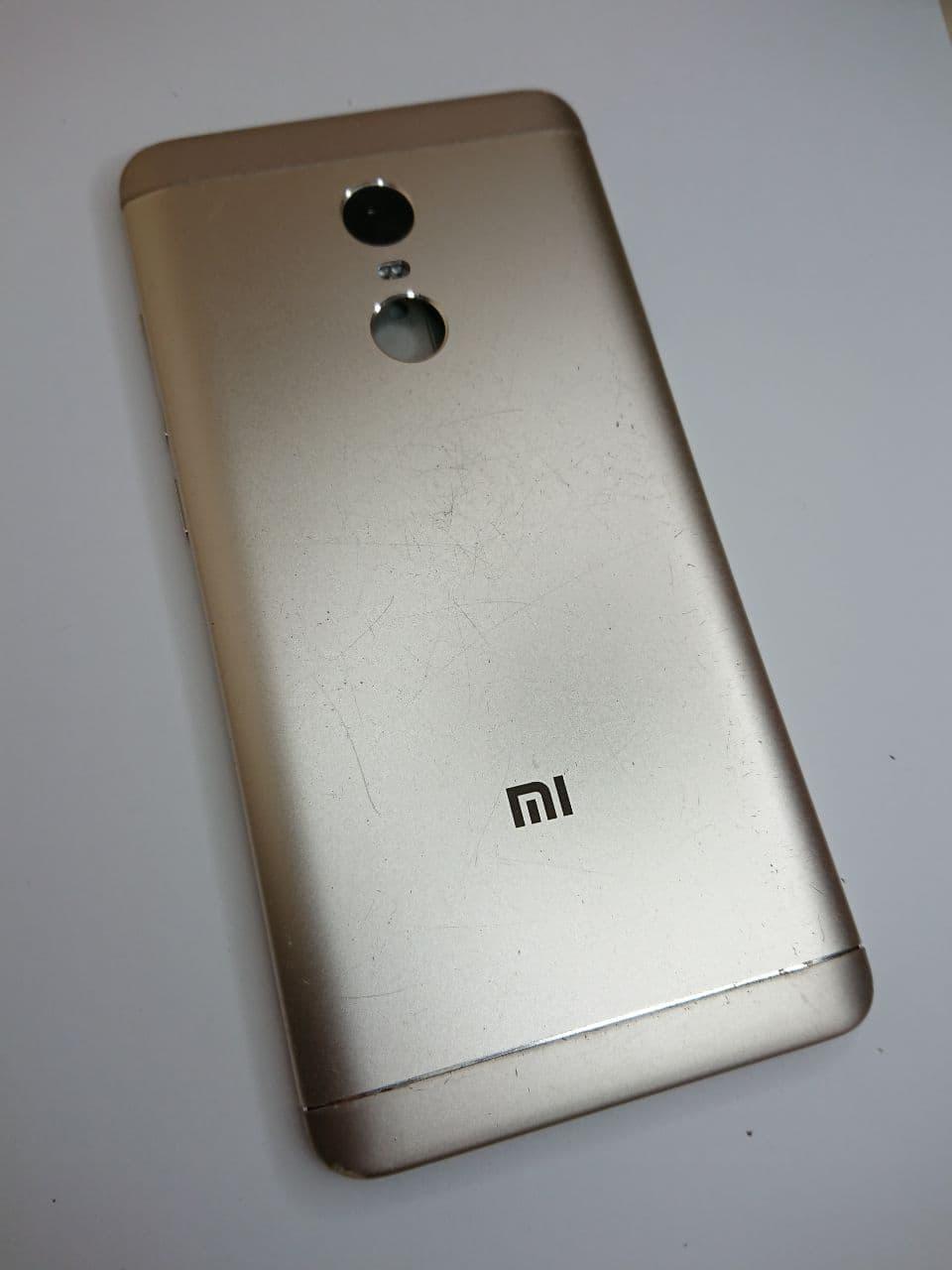 Корпус Xiaomi Redmi Note 4X Gold оригінал б.у.