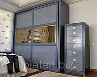 Кольорові шафи в інтер'єрі — яскраве дизайнерське рішення