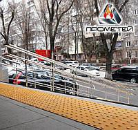 Роздільники потоку для вхідних ступенів з нержавійки монтаж у Виноградові Закарпатської області, фото 1