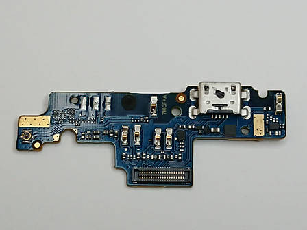 Субплата с разъемом зарядки  Xiaomi Redmi Note 4X оригинал б.у., фото 2