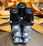 Кран защитный MERCEDES ACTROS ATEGO четырехконтурный клапан МЕРСЕДЕС АТЕГО АКТРОС 4х контурный, фото 5