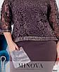 Сукня №19-04-сливовий сливовий/48, фото 4