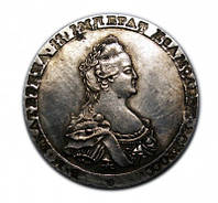 Монетовидная медаль 1796  Екатерина №192 копия