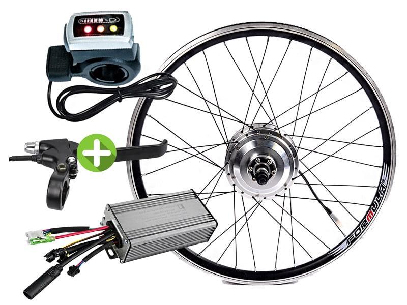 Электровелонабор для велосипеда заспицованный 36В 300Вт MXUS XF04 - XF05 під LCD дисплей