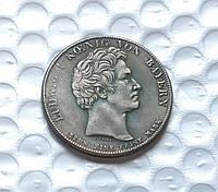 Талер 1832 В ЧЕСТЬ ИЗБРАНИЯ ОТТО БАВАРСКОГО КОРОЛЕМ ГРЕЦИИ копия монеты в серебре №216 копия, фото 1