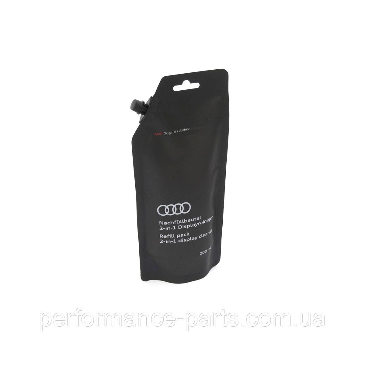 Оригинальное для заправки Audi 2-в-1 очиститель дисплея Очистка дисплея 200 мл сменная упаковка 81A09631