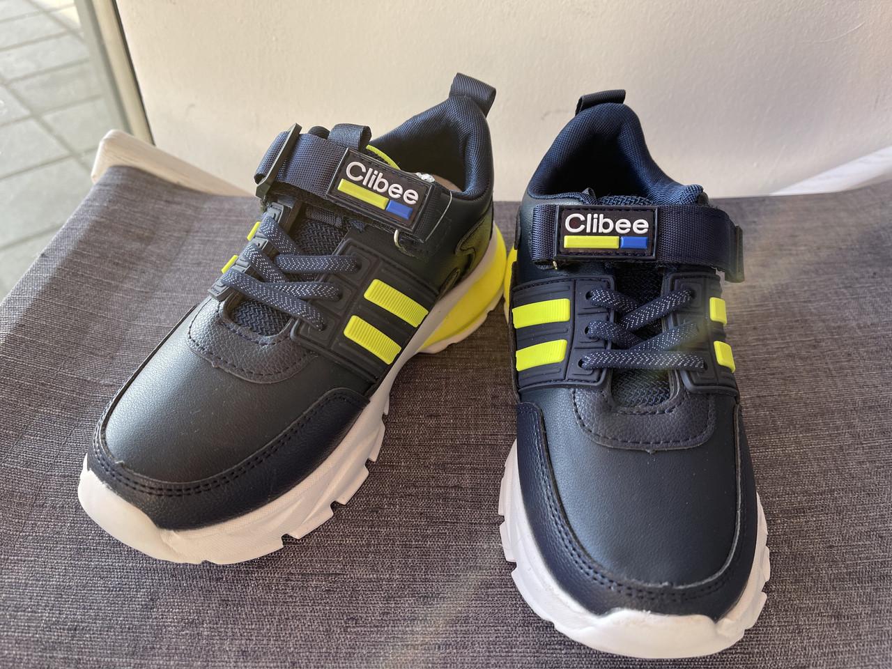 Детские кроссовки для мальчика Clibee Румыния размеры 31-36