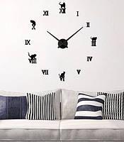 Декоративные настенные 3D часы Diy Clock, фото 1
